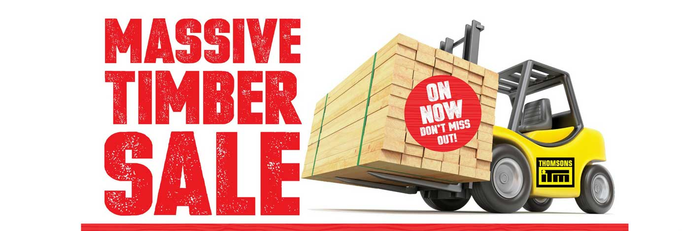 Thomsons ITM Massive Timber Sale